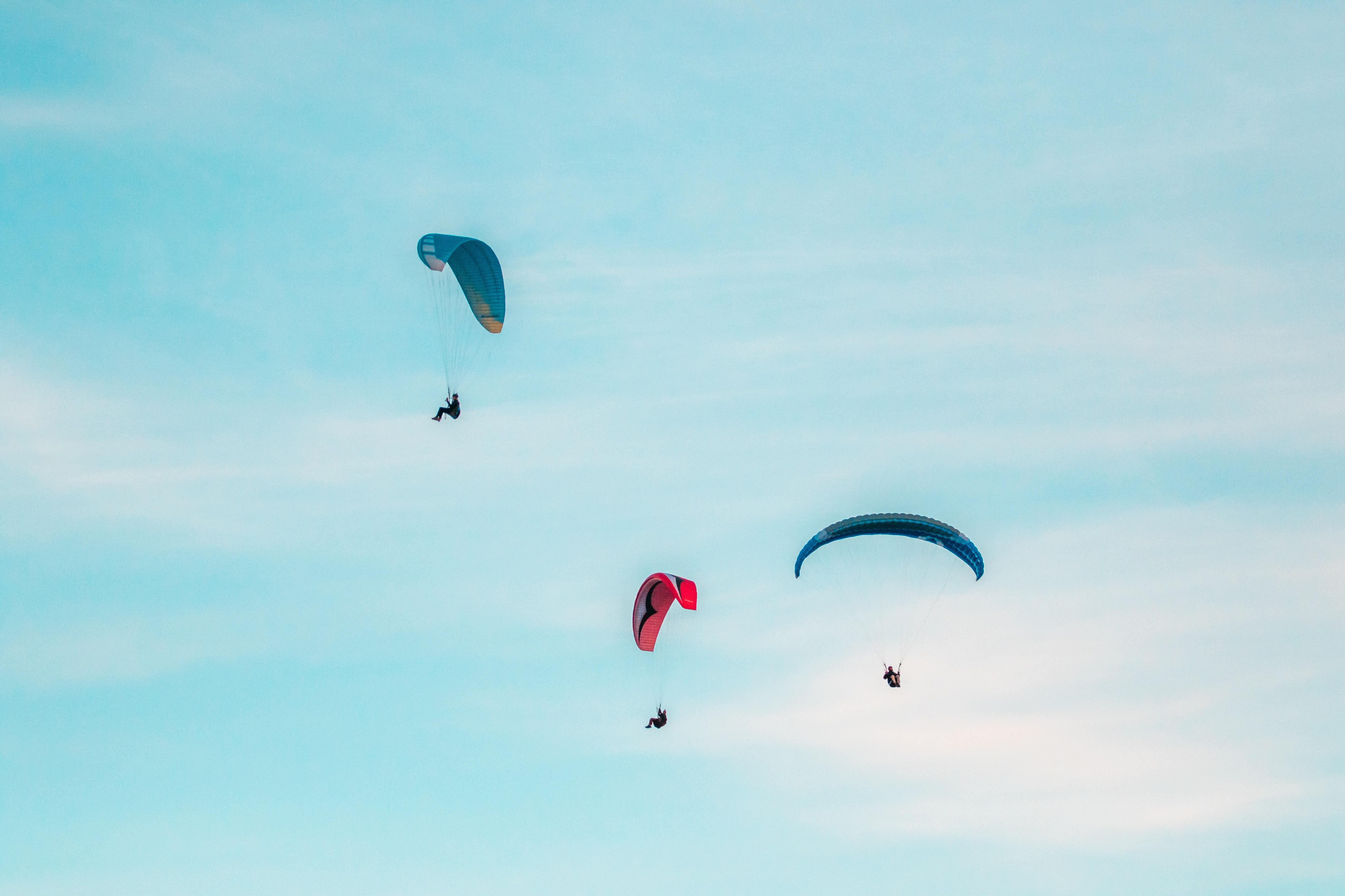 paragliding, Jimbaran, bali