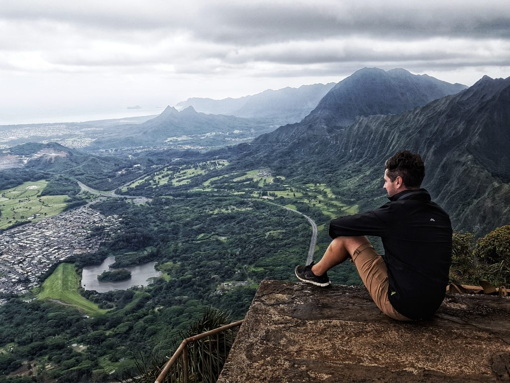 how to climb the haiku stairs
