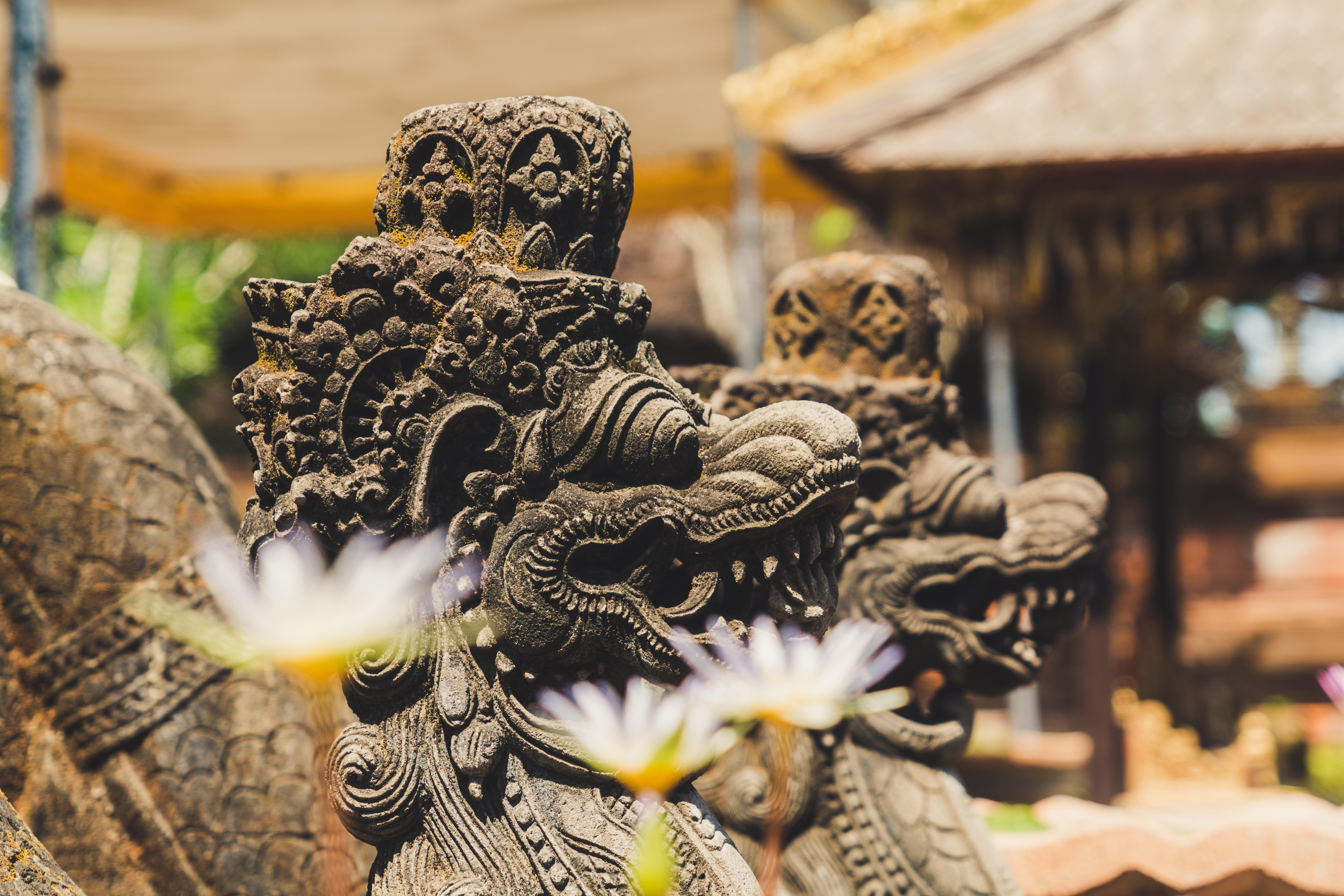 ubud, bali, temple