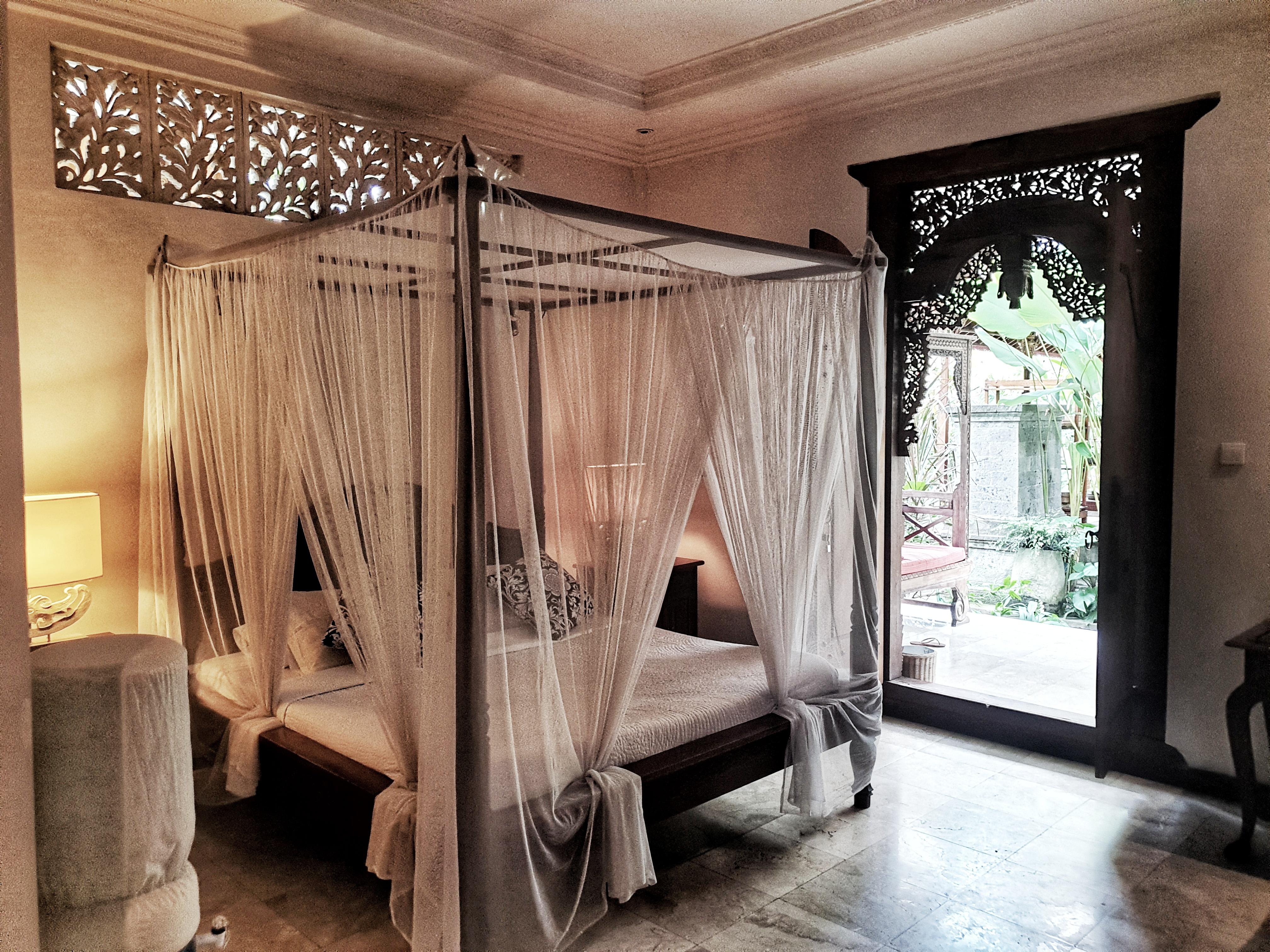 Indra Deluxe Room, Honeymoon Guesthouse, Ubud, Bali, Indonesia