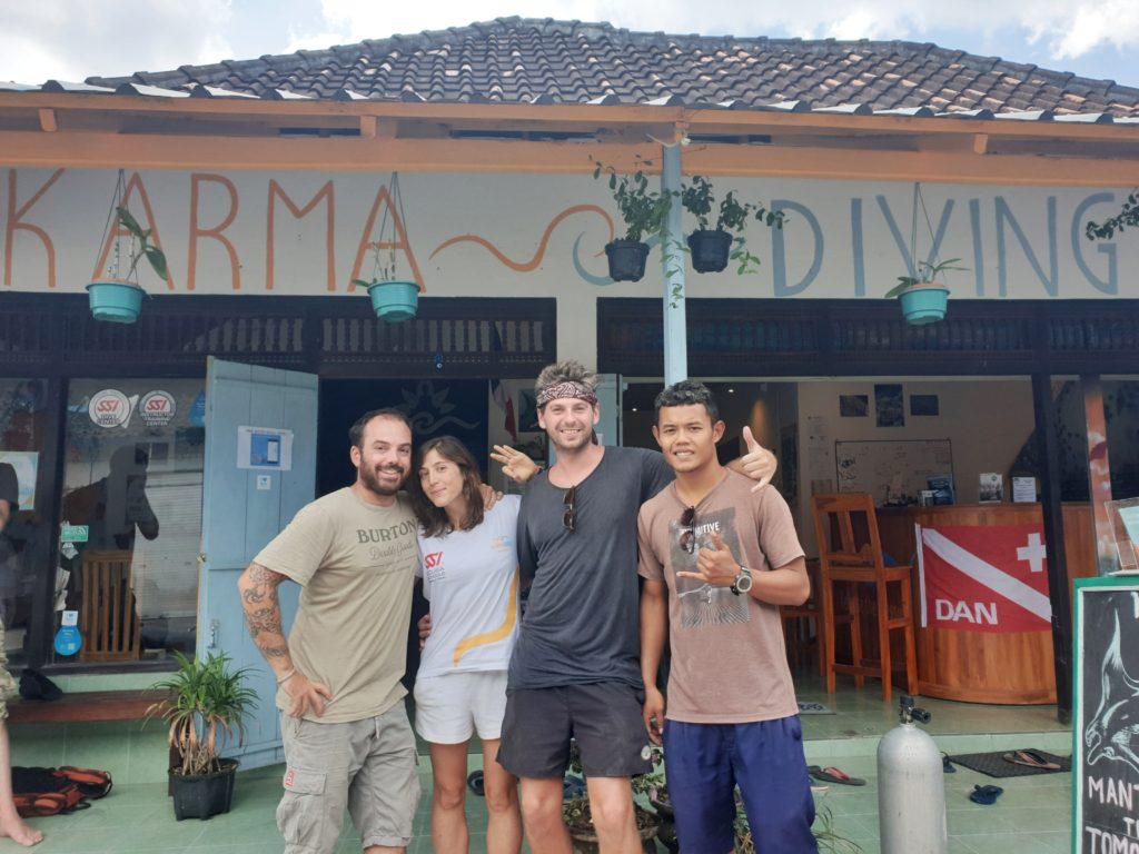 Karma Diving, Nusa Penida, Indonesia