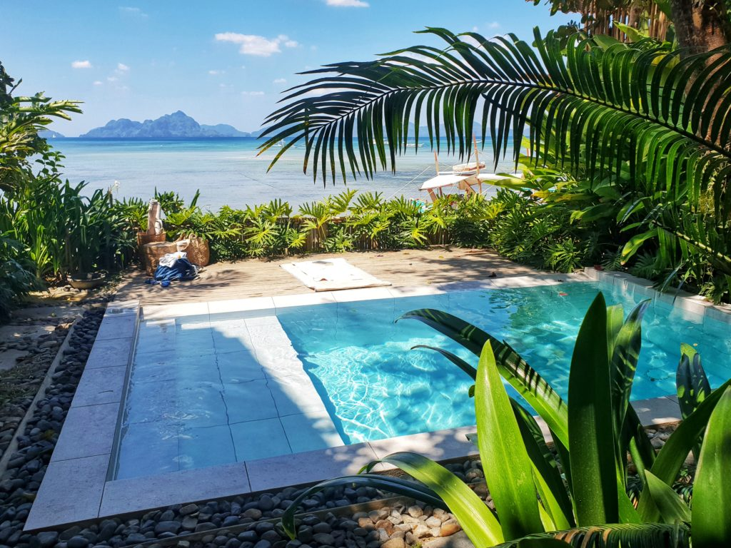 Frangipani El Nido pool