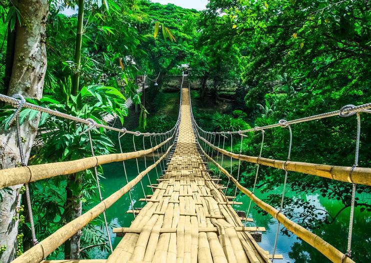 Bamboo Hanging Bridge, Bohol, Philippines