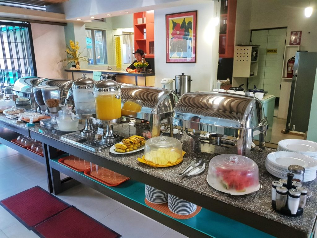 sea cocoon hotel el Nido breakfast