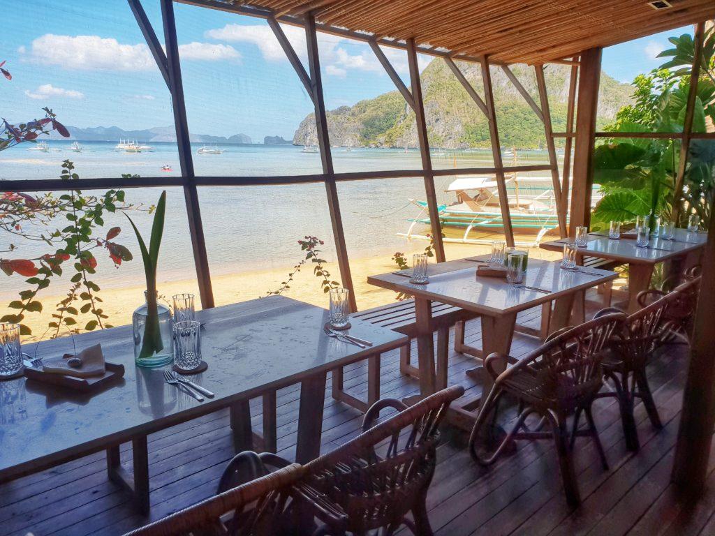 Frangipani El Nido restaurant