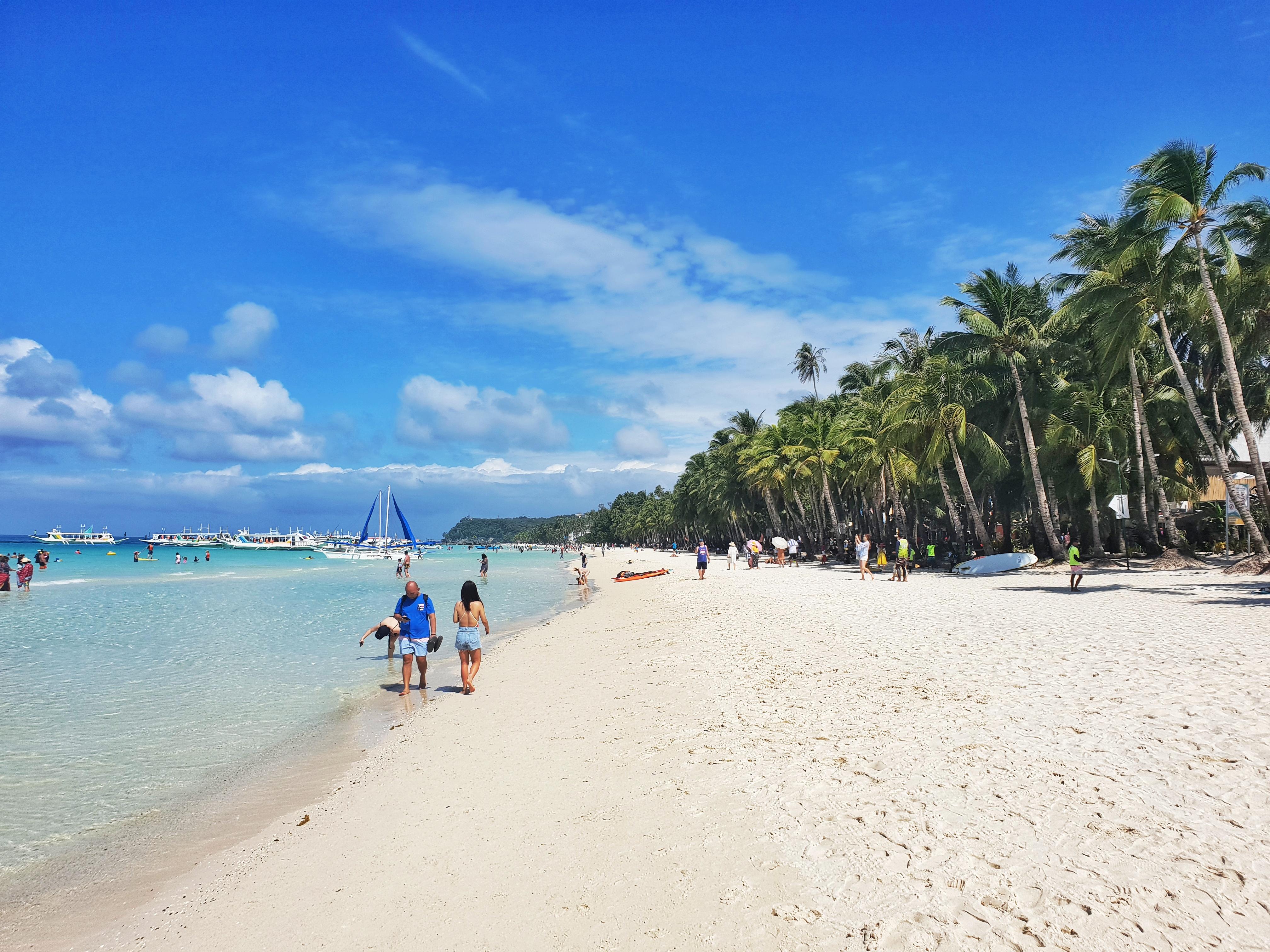The District Boracay beach