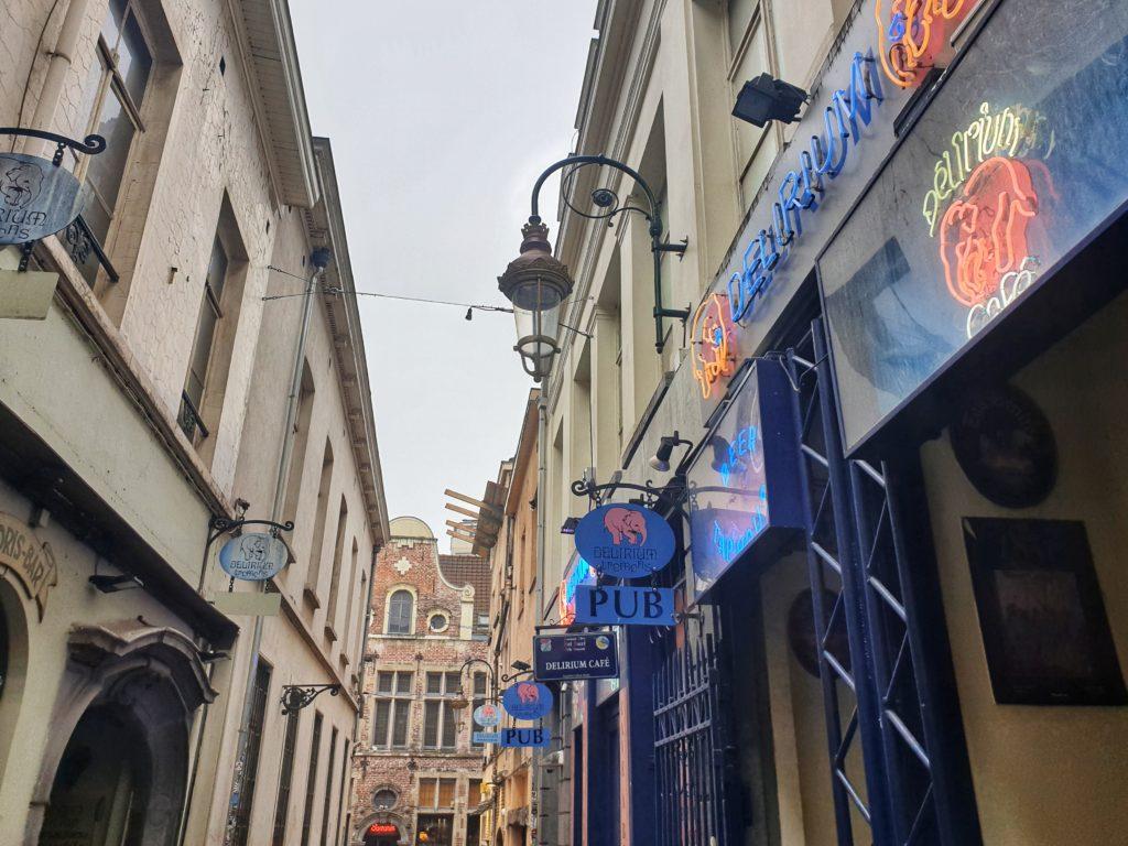Delirium Cafe Bar, Brussels, Belgium