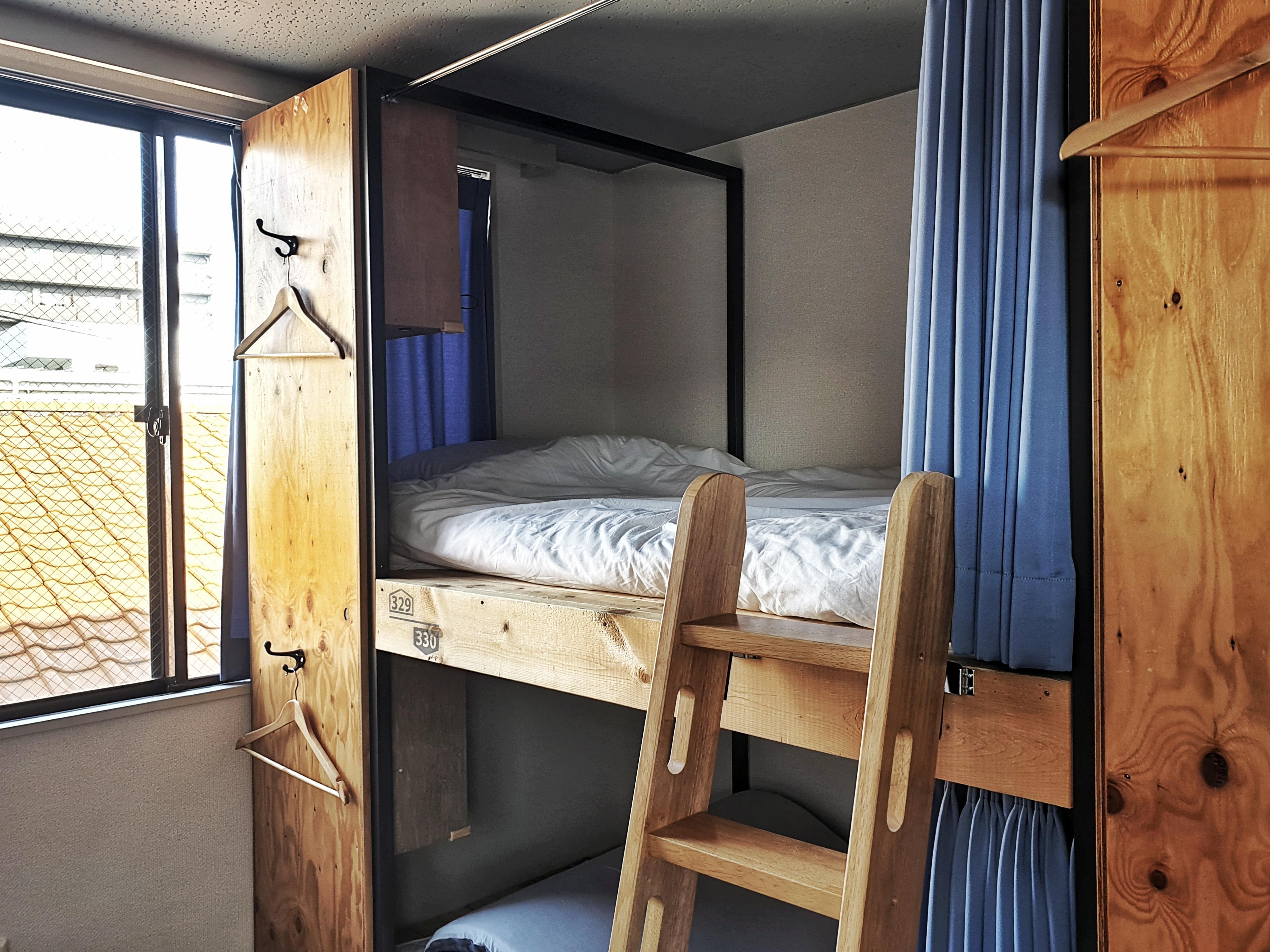 east blue Kasai Tokyo hostel, dorm