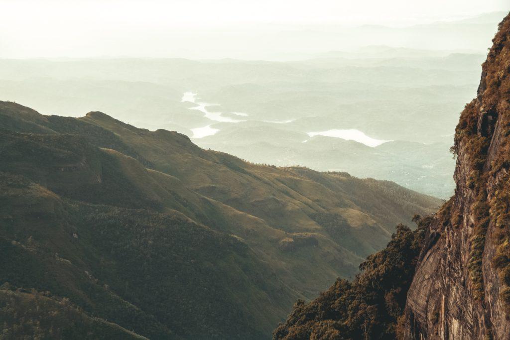 worlds end, nuwara eliya, Sri Lanka