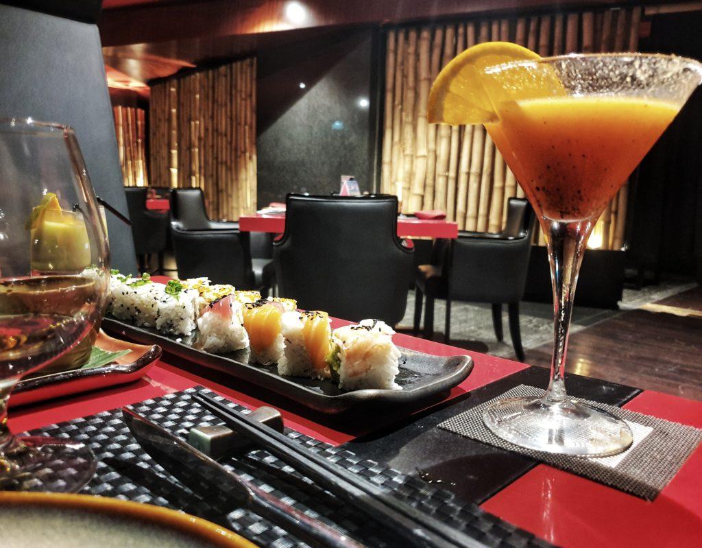 Robata restaurant, movenpick hotel, colombo, Sri Lanka