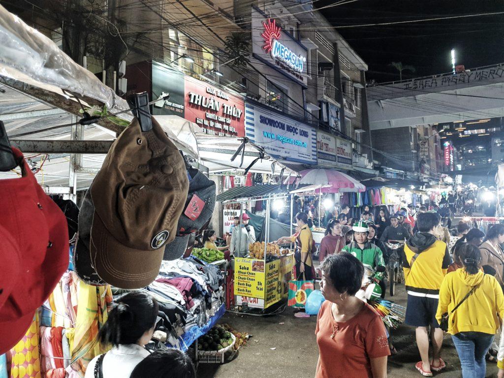 Dalat night market, Dalat, Vietnam