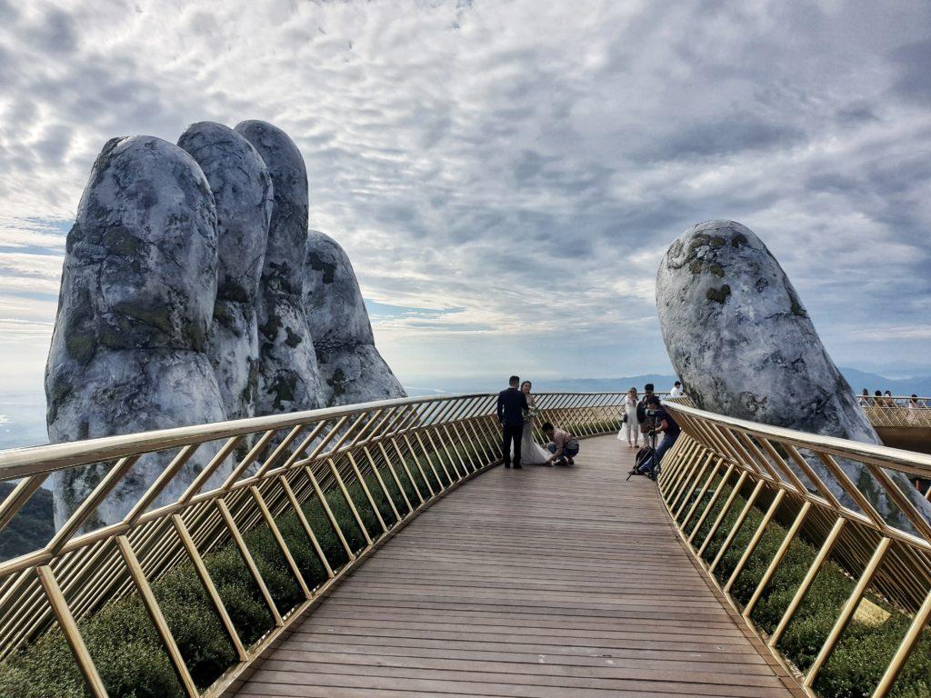 Golden Bridge, Ba Ha Hills, Danang, Vietnam