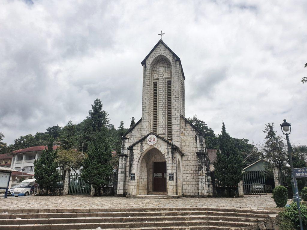 Sapa Church, Sapa, Vietnam