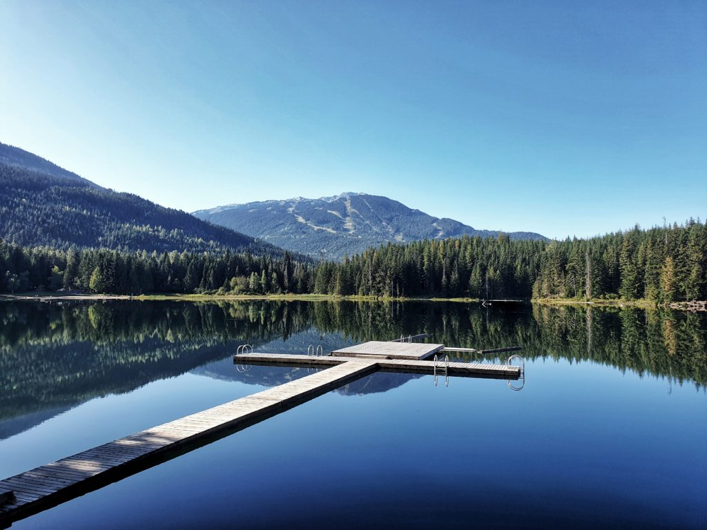 One Mile Lake, Pemberton, Canada