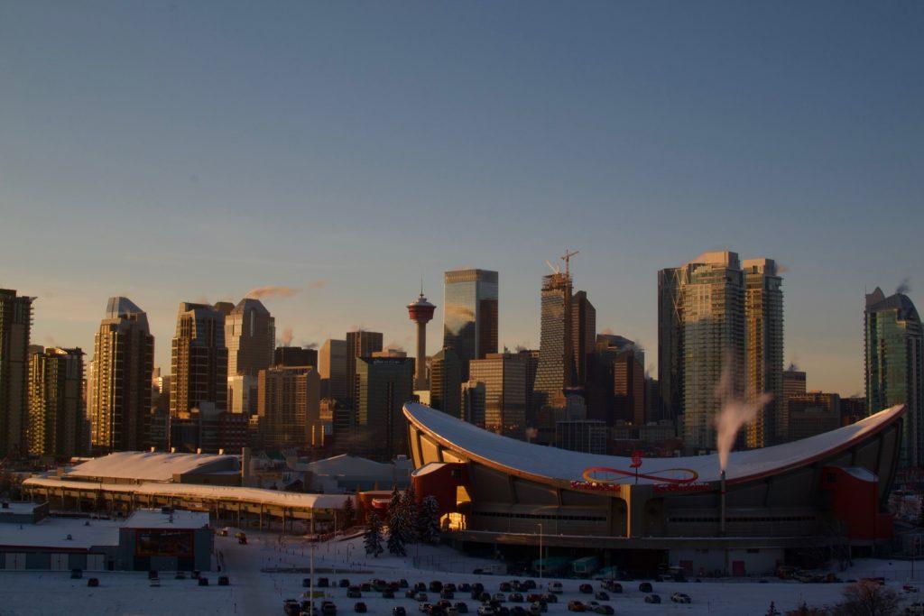 Calgary Flames Ice Hockey, Calgary, Canada