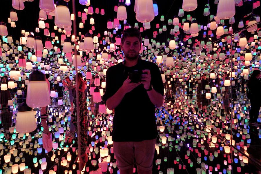 Digital Art Museum, teamLab Borderless, Tokyo, Japan