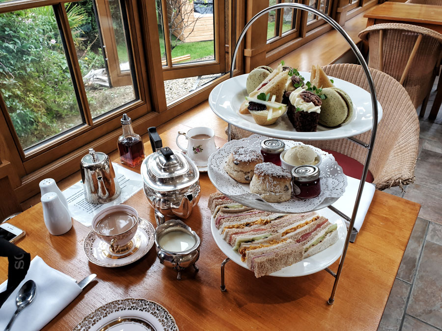 Afternoon Tea, The Speech House, Forest of Dean, England, UK