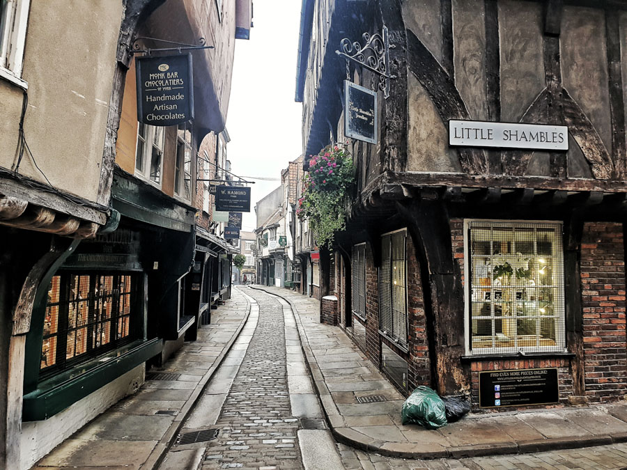 The Shambles, York, Yorkshire, England, UK