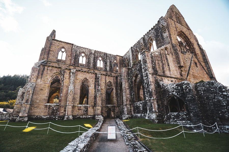 Tintern Abbey, Tintern, Forest of Dean, England, UK