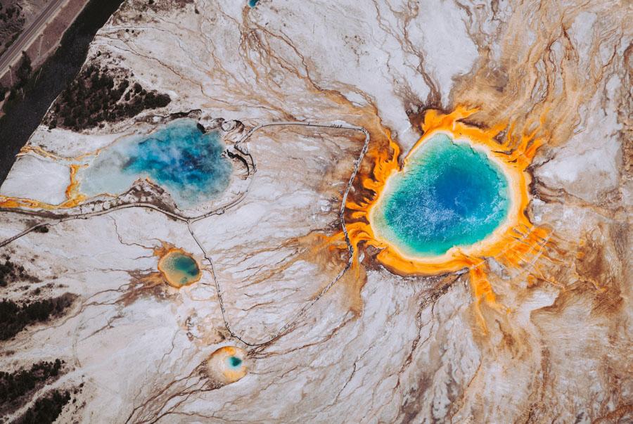 YellowStone-United States-Hot Spring